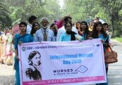 College of Nursing of IUBAT celebrates International Nurses Day