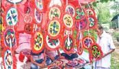 Hand fans (Pakha)