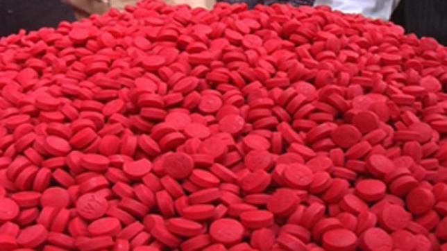 1 lakh yaba pills recovered in city