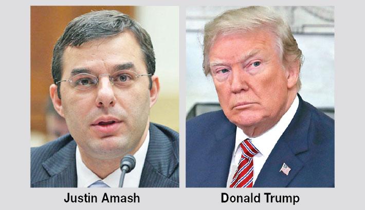 First Republican lawmaker calls for Trump impeachment