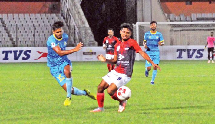 Bashundhara Kings down Abahani in BPL derby