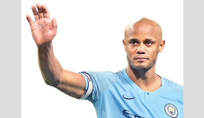 Captain Kompany to leave Man City