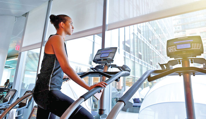 Three Lower Body Strength with Stair Climber