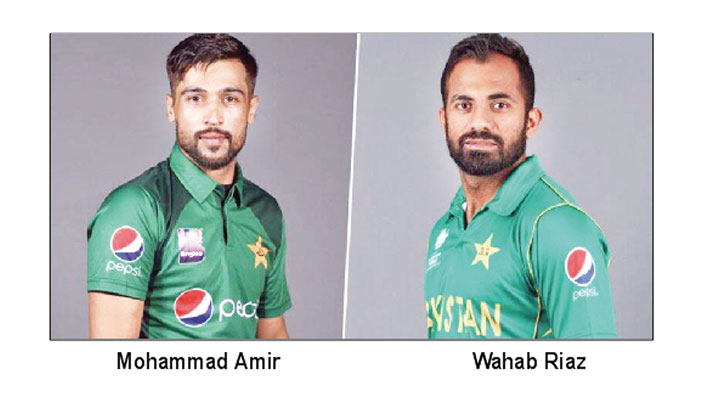Pakistan recall Amir, Wahab and Asif in WC squad