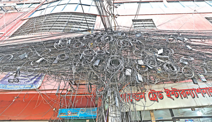 Overhead cables pose fire risk in capital