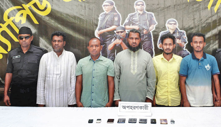 Man rescued, 5 abductors  arrested in city