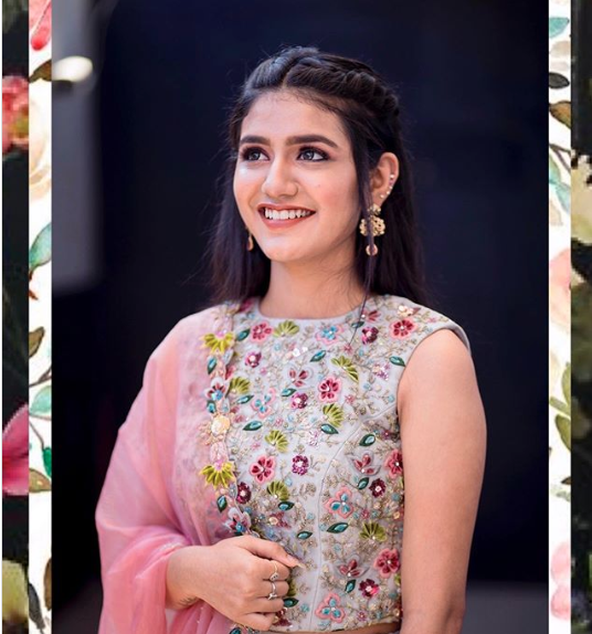 Priya Prakash Varrier's desi look breaking internet