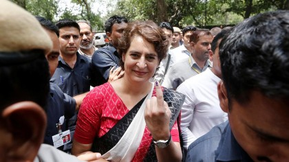Exit polls just to discourage you: Priyanka to Congress workers
