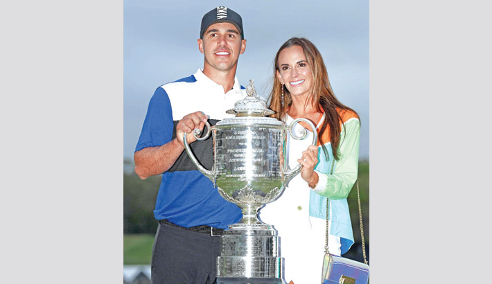 Koepka returns to top after fourth major title