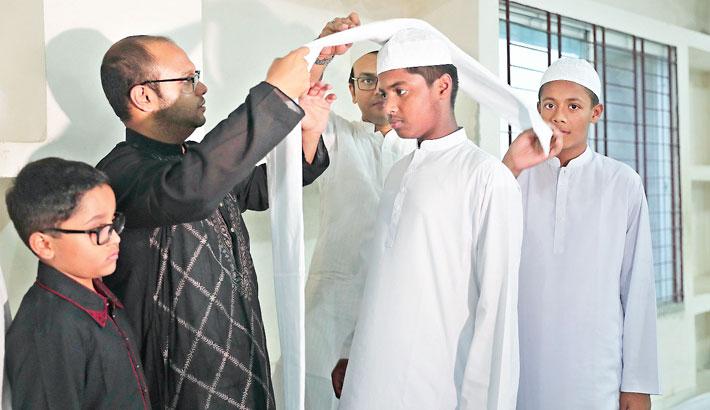 Rahmania Madrasha awards hafizes