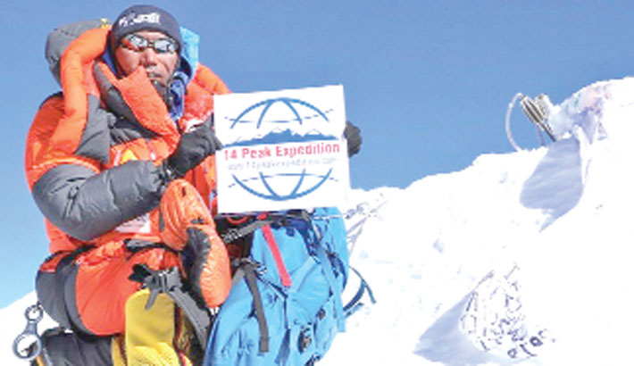Sherpa climbs Everest twice in a week for record 24th