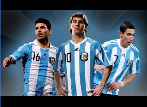 Messi, Aguero and Di Maria in Argentina's Copa America squad