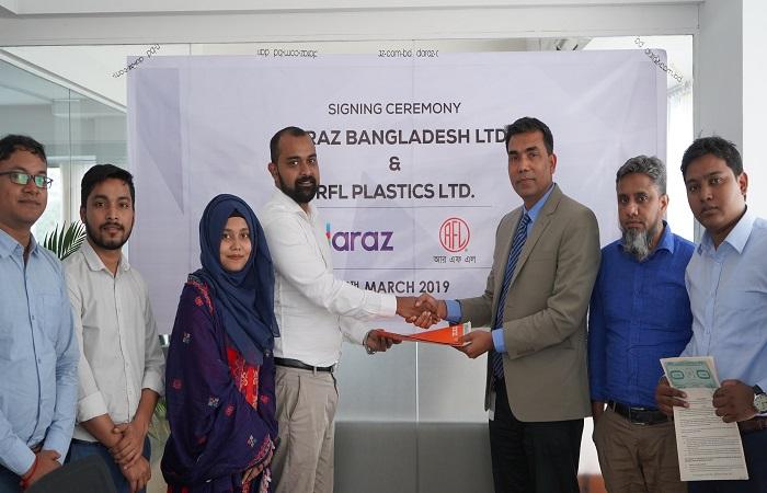 Daraz Join Hands with RFL Plastics