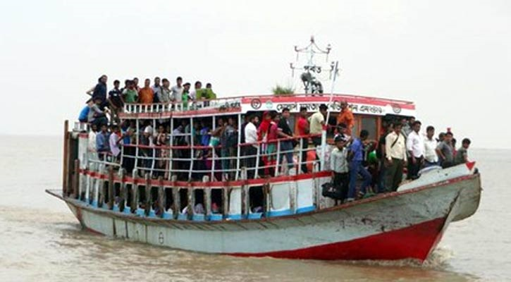 Launch stranded in Meghna after collision with trawler, 250 passengers rescued
