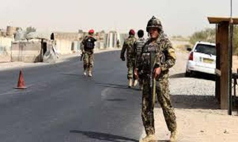 Afghan official: Taliban explosion kills 2 police, civilian