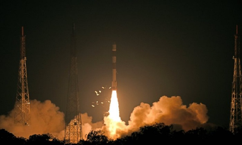 ISRO launches super surveillance satellite