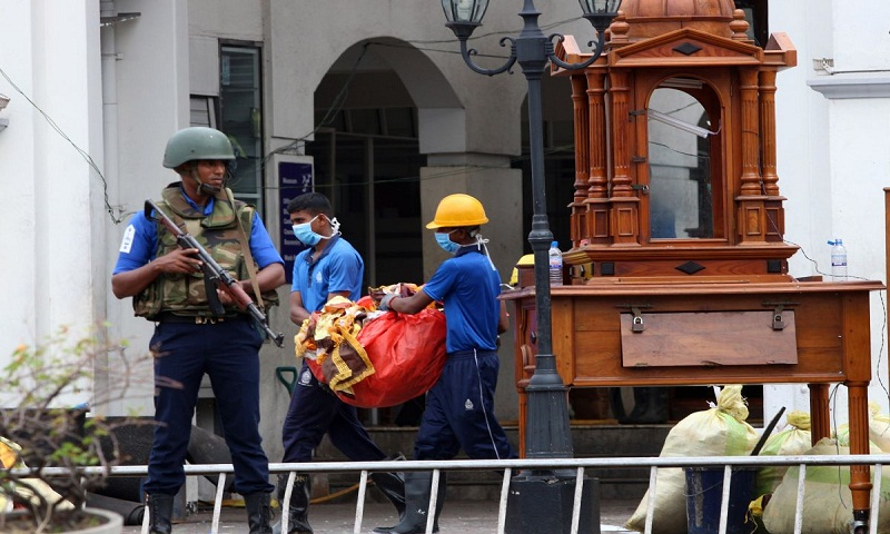 Prayer services, memorials mark one month of Sri Lanka bombings