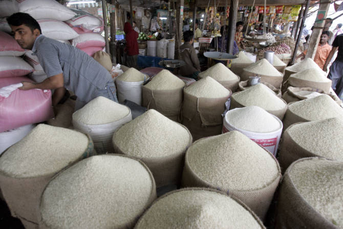 Govt increases rice import duty to 25 per cent from 3 per cent