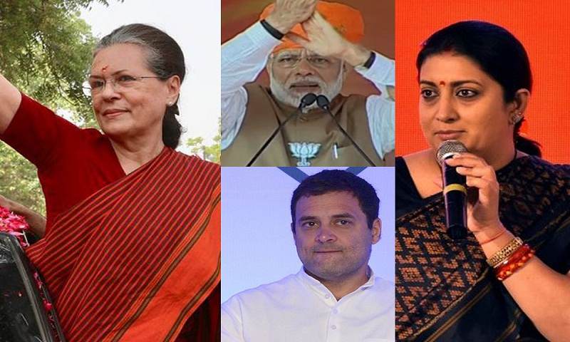Election Results 2019: Sonia Gandhi leads in Rae Bareli, Smriti Irani leads in Amethi