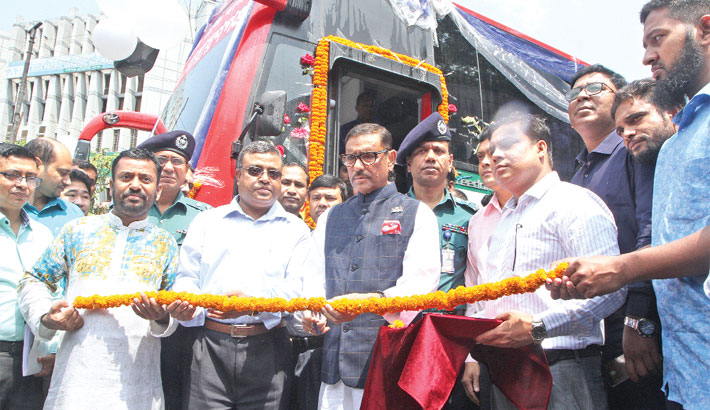 Inauguration BRTC air-conditioned bus service