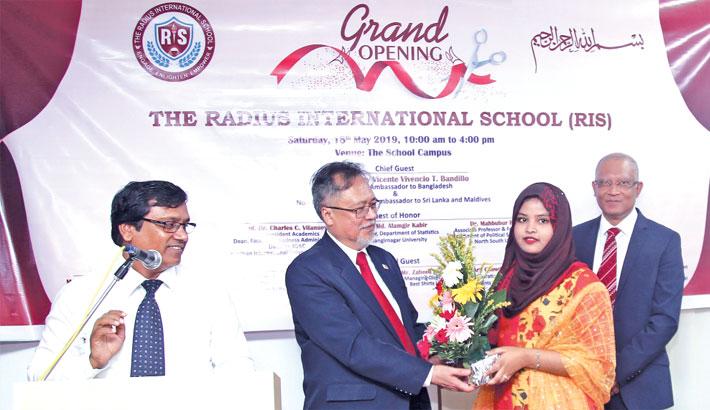 Radius International School launched in Dhaka