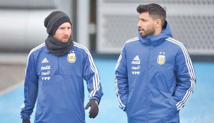 Messi, Aguero named in Argentina Copa squad