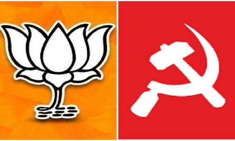 BJP leading in both Lok Sabha seats in Tripura