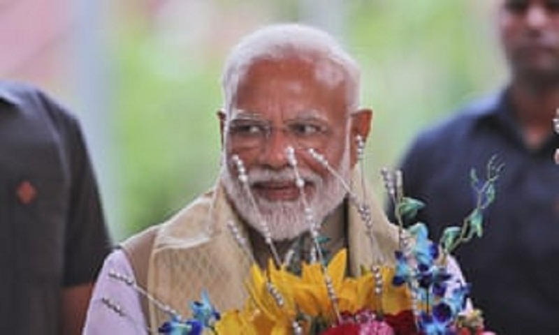Modi's party claims victory in Indian election