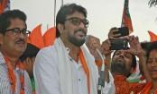 West Bengal: Babul Supriyo leading from Asansol, Locket
