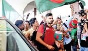 Mashrafe leaves Dhaka to join WC team in England