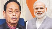 Ershad greets Modi for election victory