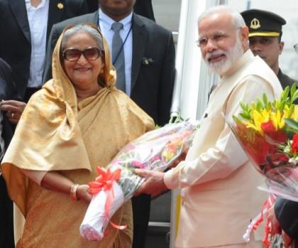 Sheikh Hasina congratulates Modi on election victory