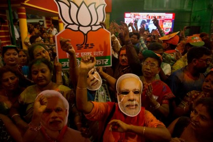 India election results: Modi wins in landslide victory