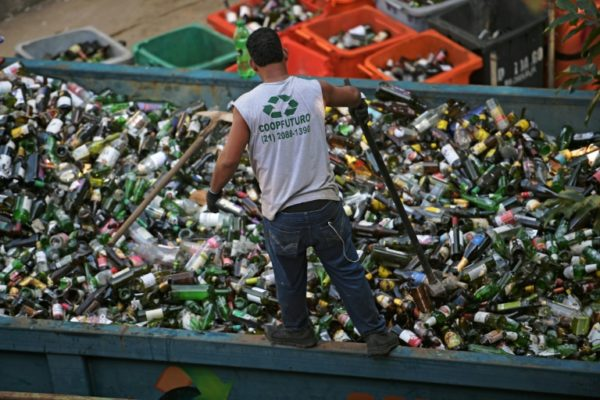 Plastic polluter: Brazil recycles 'almost nothing'