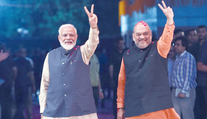 Modi magic proved again