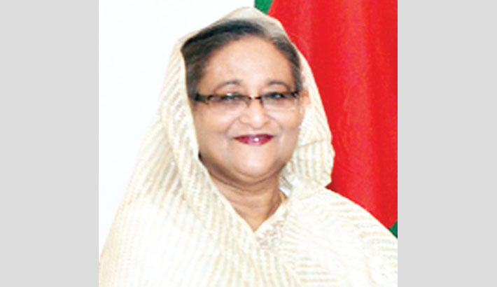 Hasina greets Modi over phone
