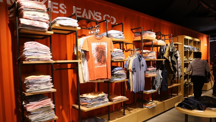 Global denim brand Rookies opens flagship store in city