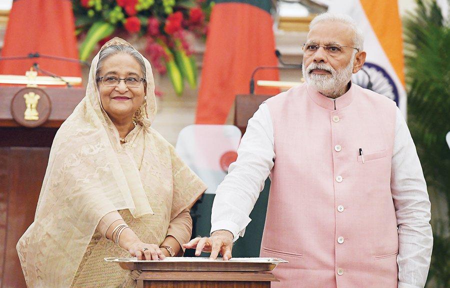 India says Hasina's call to Modi 'reflection of extraordinarily cordial ties'