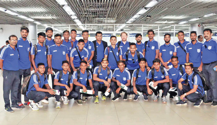 Booters off to Thailand for AFC camp