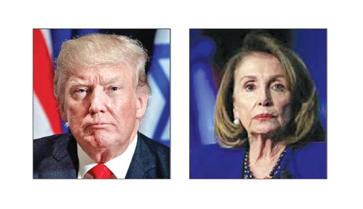 Trump, Pelosi trade barbs as impeachment talk stirs anger