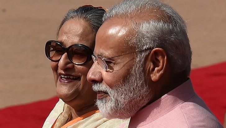 "Hasina, Modi pledge to raise ties to ""unprecedented new height"""