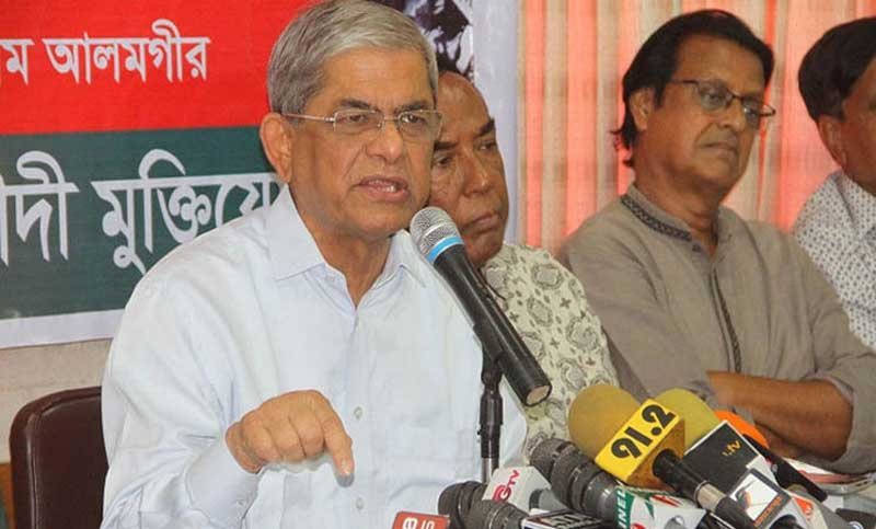 Ruling party assisting party-backed rice mill owners to have profit by procuring paddy: Mirza Fakhrul