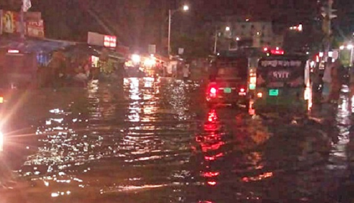 Rain submerges parts of Chattogram city