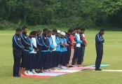 Bangladesh players offer Juma prayers in the field