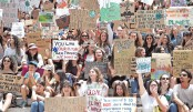 Schoolchildren step up fight for climate change in global strike