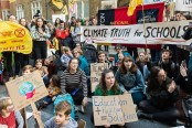 Students from 1,600 cities walked out of school to protest climate change