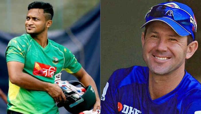 Ponting's World Cup danger man is Shakib Al Hasan