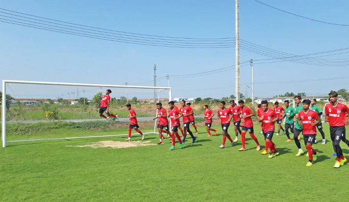 Bangladesh footballers begin preparation camp
