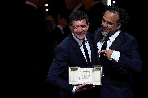Antonio Banderas wins best actor at Cannes film festival