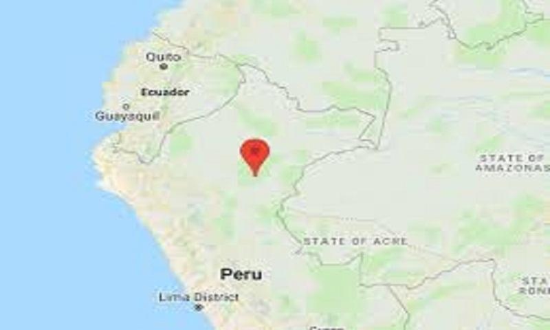 Magnitude-8 earthquake strikes north-central Peru